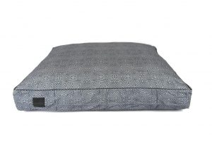 Floor cushion Mudcloth Grey